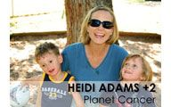 Heidi Adams-2. PLANET CANCER: Stretching Your Money & Your Belly at Launch. Episode #26